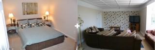 Ložnice a obývák v jednom